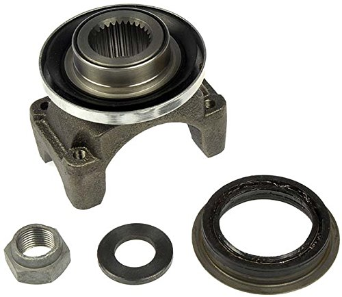 (APDTY 708611 Pinion Yoke Kit With Upgraded Oil Seal, Washer & Nut Fits Rear Driveshaft To Rear Differential (Solves Clunk Bump or Squawk Sound When Accelerating; Replaces GM 12470387) )