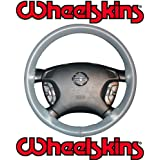 2008-10 Ford F-250, F-350 Original Genuine Leather Steering Wheel Cover - Charcoal
