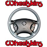 2002-08 Jaguar X Type Original Genuine Leather Steering Wheel Cover - Tan