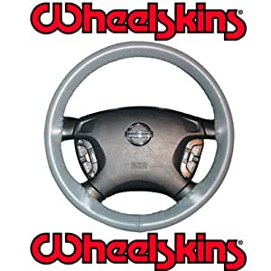 2008-10 Ford F-250, F-350 Original Genuine Leather Steering Wheel Cover - Black