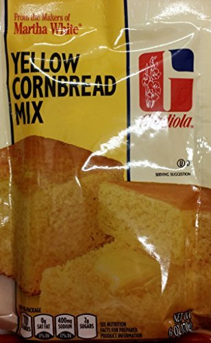 Gladiola Martha White Yellow Cornbread Mix 6 Oz (Pack of 6)