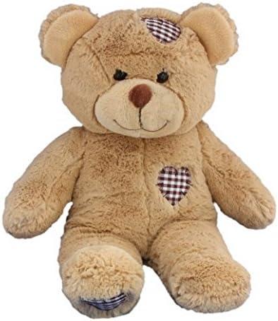 HeartBeat Bear - Oso de peluche (40,6 cm, prerellenable, grabable, graba el sonido del latido del corazón de tu bebé para atesorar para siempre): Amazon.es: Bebé