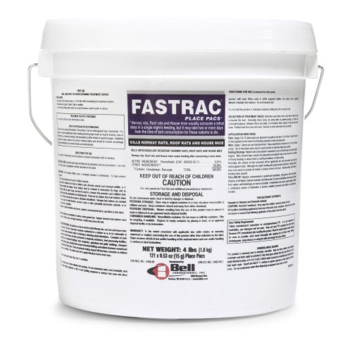 Fastrac poison pellets place packs qty 12