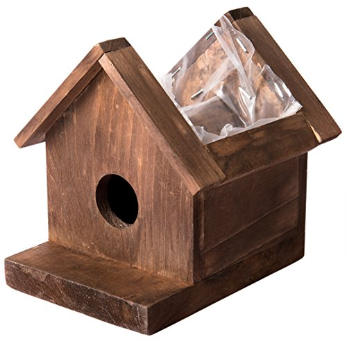 Supermoss 56060) Plantable Birdhouse, Small, Jade