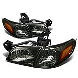 99 trans am tail light lens - Venture/Silhouette 4pcs Smoked Lens Amber Corner Headlight+Corner Light Kit Replacement