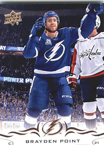 2018-19 Upper Deck Hockey Card #163 Brayden Point Tampa Bay Lightning Official UD Trading Card