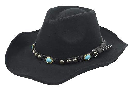 HaiDean Gorras Sombrero De Campana Invierno para Otoño Mujer con ...