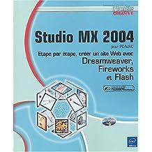 Studio MX 2004 pour PC/MAC
