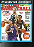 ATHLON SPORTS COLLEGE BASKETBALL MAGAZINE, 2018/19 PREVIEW ISSUE, VOL. 25