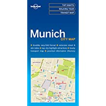 Lonely Planet Munich City Map 1st Ed.