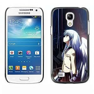 A-type Arte & diseño plástico duro Fundas Cover Cubre Hard Case Cover para Samsung Galaxy S4 Mini i9190 (Anime Girl)