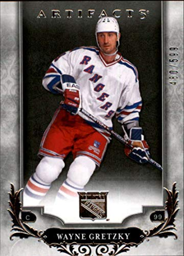 2018-19 Upper Deck Artifacts #137 Wayne Gretzky /599 New York Rangers NHL Hockey Trading ()