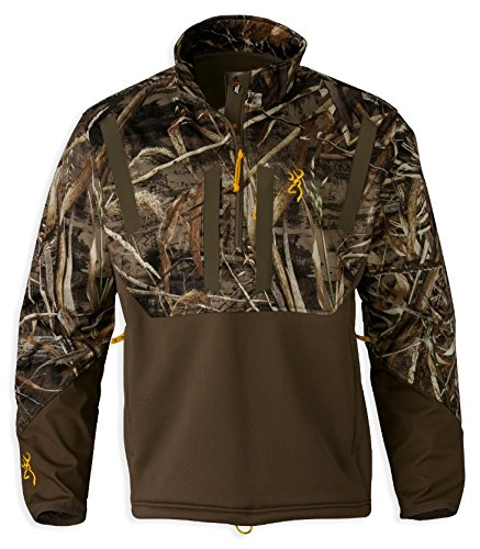 Browning 1/4 Zip Ww Timber S/S Rtm5, Size: L - Wicked Wing