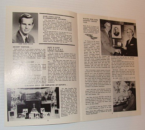 The Edmontonian, September 1958 - Published monthly in the interests of employees of the T. Eaton Co., Western Ltd., - Eaton Edmonton