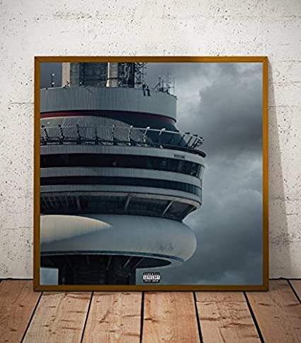 Amazon.com: Drake Views Album Limited Poster Artwork - Professional ...