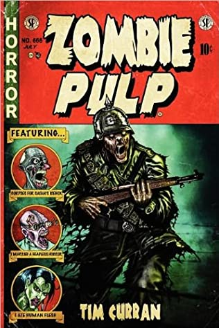 book cover of Zombie Pulp