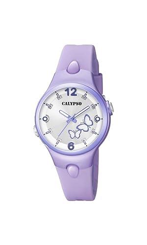 Calypso Watches Reloj Analógico para Mujer de Cuarzo con Correa en Plástico K5747/5: Amazon.es: Relojes