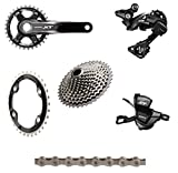 Shimano XT 8000 175mm Complete Groupset