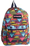 Trailmaker Girls 7-16 Padded Straps Backpack, Aztec, One Size, Bags Central