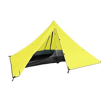 Amazon.com   Survivalist Ultralight Pyramid Tents Camping Tent Solo ... b55b361ca15c