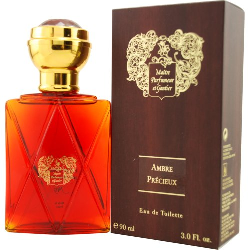 Parfumeur Ambre Precieux Eau De Toilette Spray for Men, 3.3 Ounce (Gantier Eau De Toilette Spray)