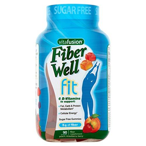 Vitafusion Fiber Gummies for Weight Management Fiber Supplem