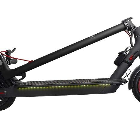 Konesky Scooter Electrico Tiras de Luces LED, Plegable ...
