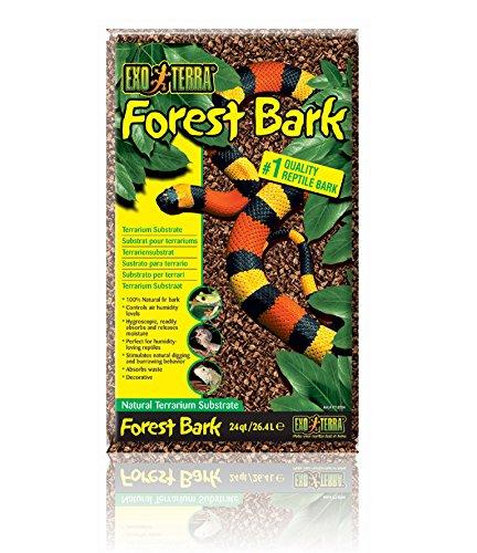 (Exo Terra Exo Terra Forest Bark Terrarium Substrate, 26.4 L (24 Qt))