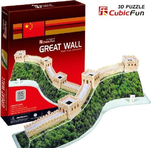 lovely-kids-3d-puzzle-paper-model-china-the-great-wall-birthday-gift-creative-toy-c069h-1pc