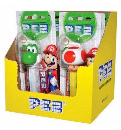 Dispensador de Pez de Nintendo 17g x 6