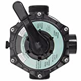 """XtremepowerUS 24"""" Above Inground Swimming Pool Sand Filter System 7-Way Multi-Port Valve Pool Filter up to 29,400 Gallons with Stand"""