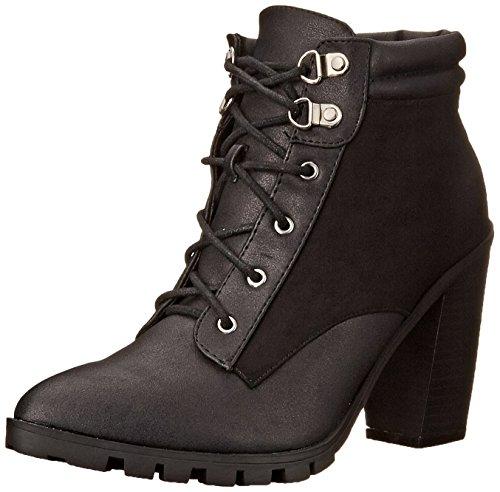 Qupid Women's Wicker-05 Boot Black zGv5VMuIS