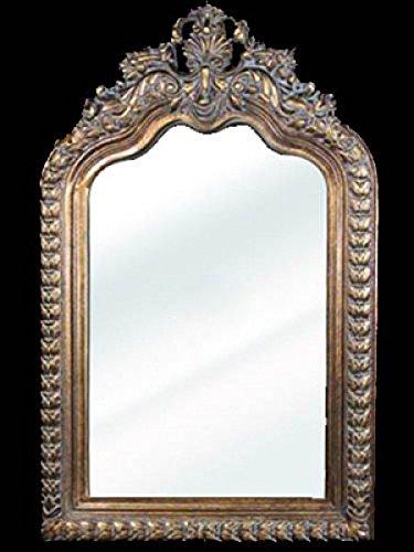 Espejo de pared Barroco de imitación oro 60 x 90 cm Espejo ...