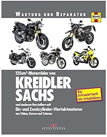 maintenance manual and repair instructions for kreidler sachs luxxon rh amazon co uk