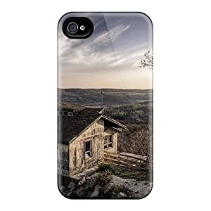 New Arrival Case Cover With EFON2470 Design For Iphone 4/4s- Desolate Lonely House