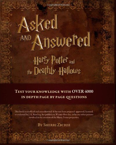 Asked And Answered: Harry Potter and the Deathly Hallows - HPB