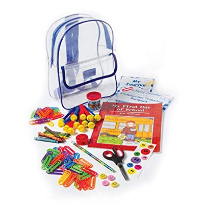 Kindergarten Transition Backpack well-wreapped