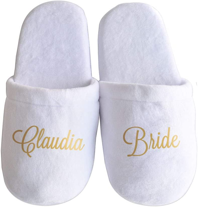Personalised Wedding Slippers, Custom