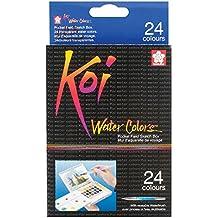 Koi Watercolor Pocket Field Sketch Box Set Of 24