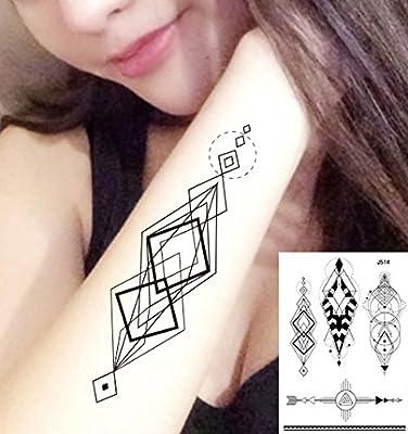 Tatuajes líneas geométricas Tatuajes grafische Tatuajes Falsos ...