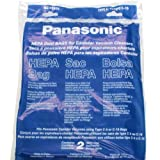 vacume panasonic - Panasonic MC-V295H Type C-19 Canister HEPA Vacuum Bag, Pack of 2