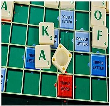 SCRABBLE Juego de Mesa Familiar 100 Letras scrable: Amazon.es: Juguetes y juegos