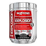 Six Star Pre-Workout Explosion Supplement, 0.45 Pound Pack of 3