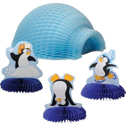 Penguin Tabletop Igloo Display 4 Piece