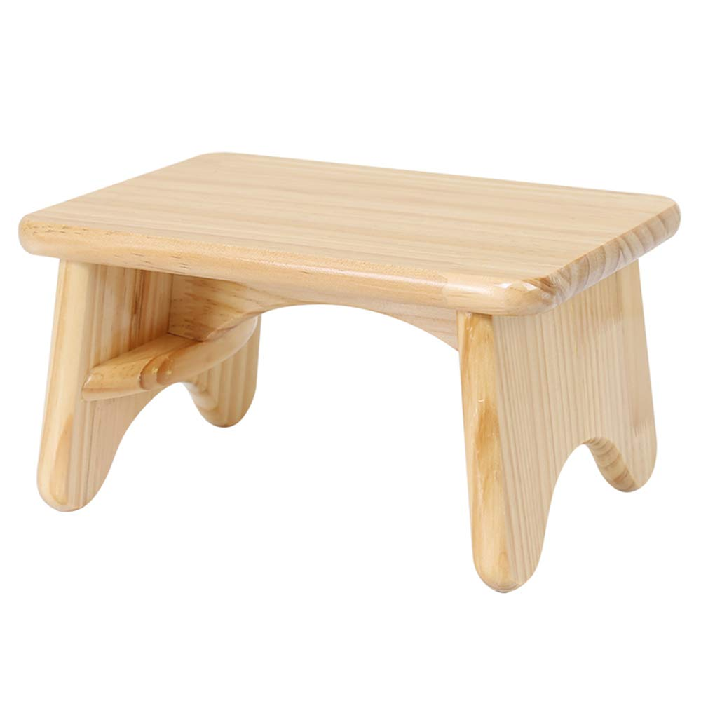 ZAYJD XRXY Solid Wood Living Room Solid Stable Small Stool/Child Creative Small Bench/Simple Sofa Stool/Practical Low Stool