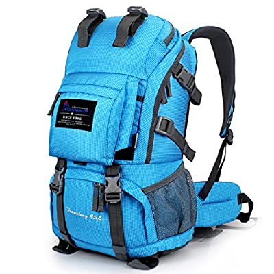 Mountaintop 40 Liter Hking Backpack with Rain Cover-5813