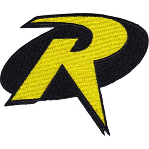 Dc comics batman robin logo size ironed or sewn on