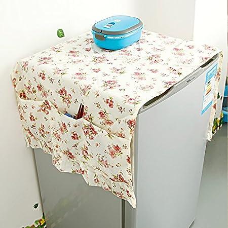 Astra Gourmet Floral nevera frigorífico a prueba de polvo cubierta ...