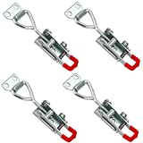 Creatyi 4 PCS 4012 Toggle Latch Clamp Heavy Duty Unique Self-lock Adjustable Hand Tool