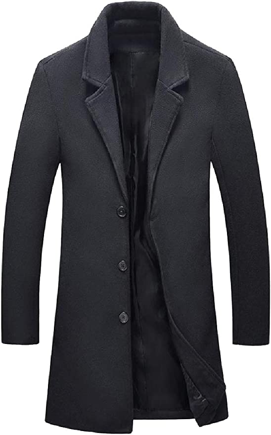 Abetteric Mens Single Breasted Faux Twinset Stitch Vest Coats Jacket